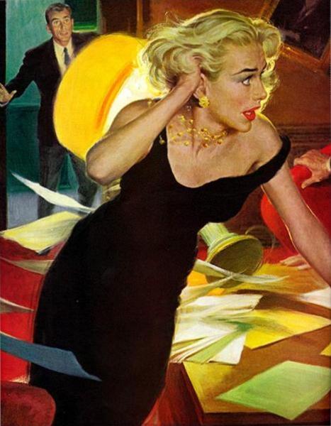 The Cold-War Blonde