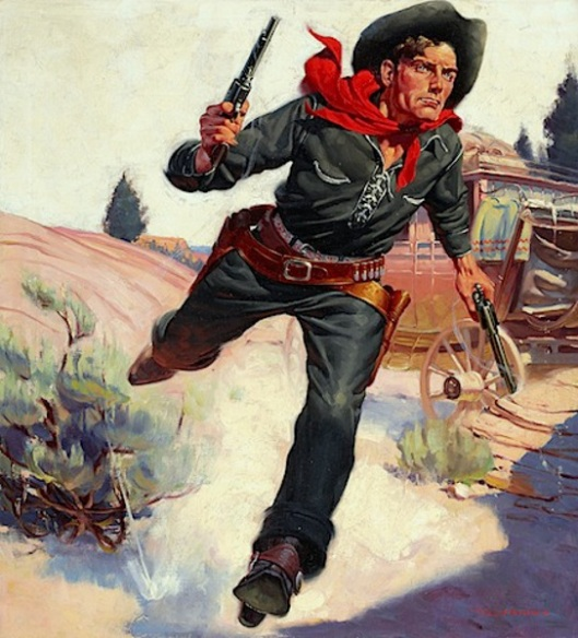 illustration for Wild West Weekly