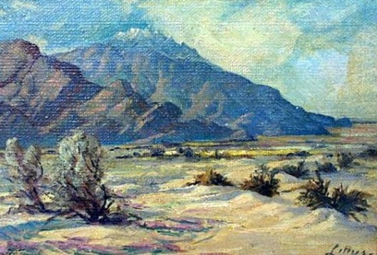 California Desert Landscape