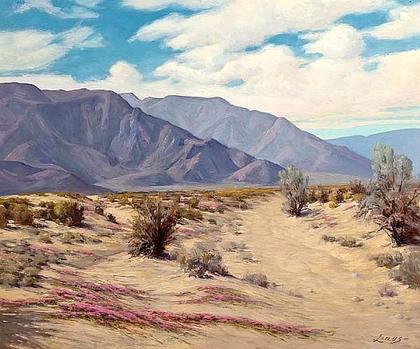 Desert Landscape, Southern Calfornia