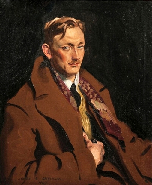 Gentleman In A Brown Overcoat