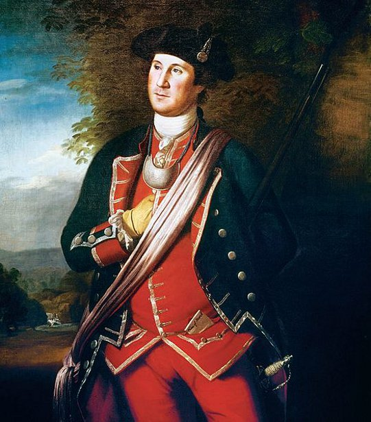 George Washington As Colonel Of The First Virginia Regiment