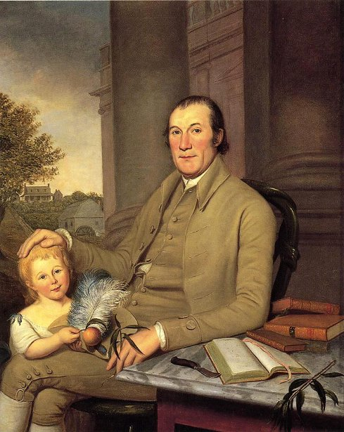 William Smith And His Grandson, Robert Smith Williams