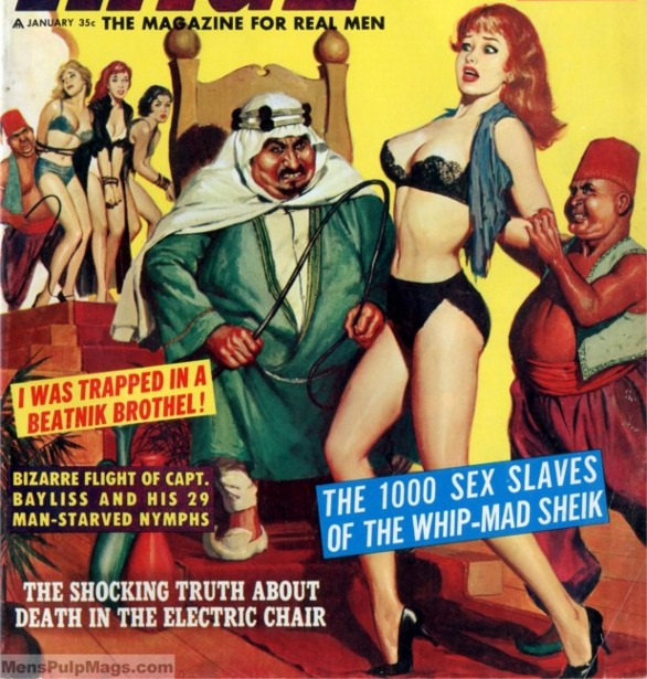 The 1000 Sex Slaves Of The Whip-Mad Sheik