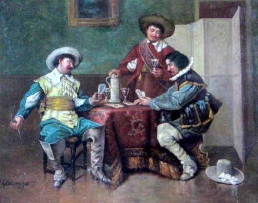 Gauchos Playing Cards