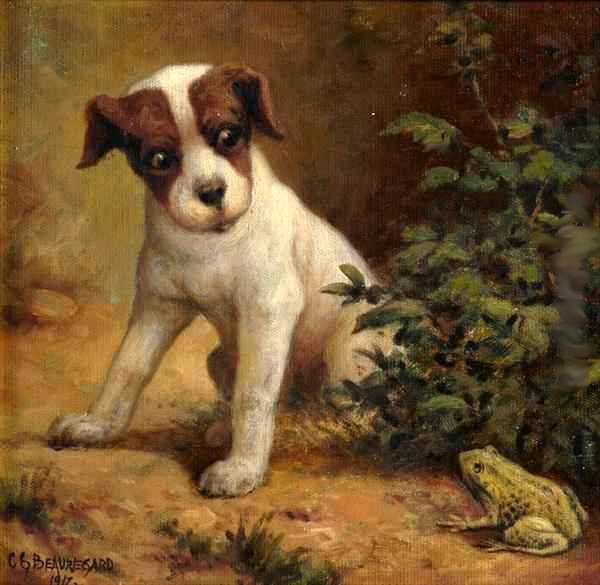 Terrier And Toad