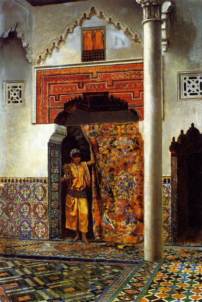 A Moorish Interior
