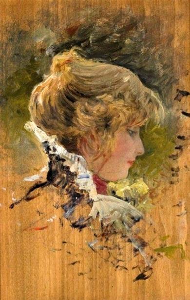 Fanny (Frances Hale Weeks), The Artist's Wife