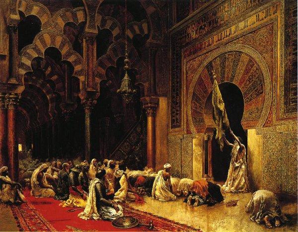 Interior Of The Mosque At Cordova