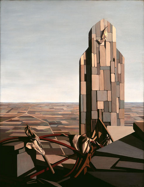 the creative writing the work of kay sage Kay sage 's self-portrait le passage (1956) shows the artist looking out over a barren, geometric landscape while ominous clouds gather overhead she is inward-looking viewers see her only from the back, the impenetrable terrain before her suggesting a neverending cerebral space.