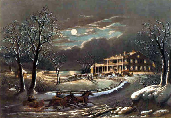 American Winter Scenes - Evening