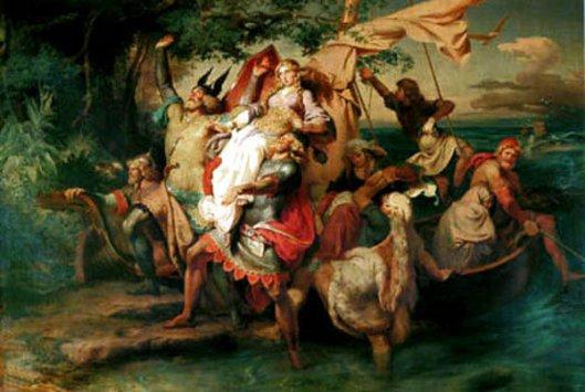 Arrival Of The Vikings In America