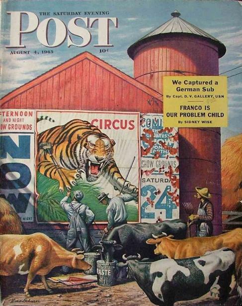 Barnside Circus Poster