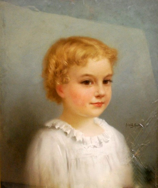Bust Of A Young Child