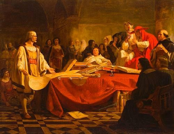 Columbus Before The High Council Of Salamanca