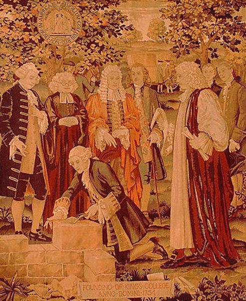 Founding Of King's College, Anno Domini 1754