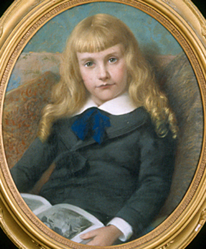 Francis Lebaron Robbins jr. As A Child