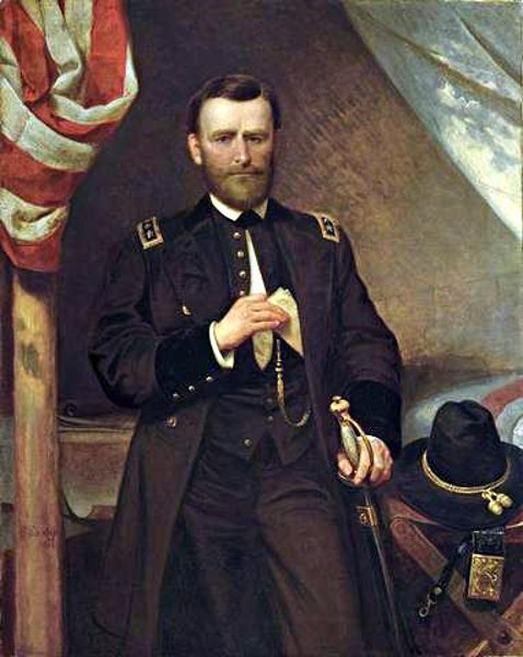 General Ulysses S. Grant In His Tent