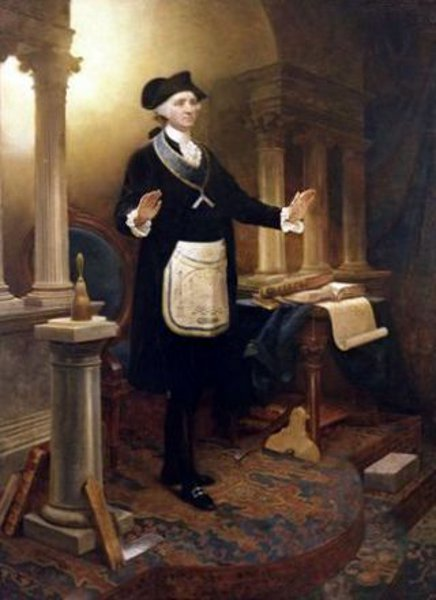 George Washington As A Master Mason