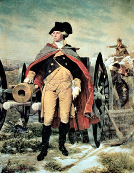 George Washington At Dorchester Heights, Massachusetts