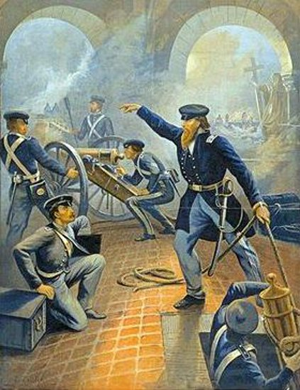 Grant At The Capture Of The City Of Mexico