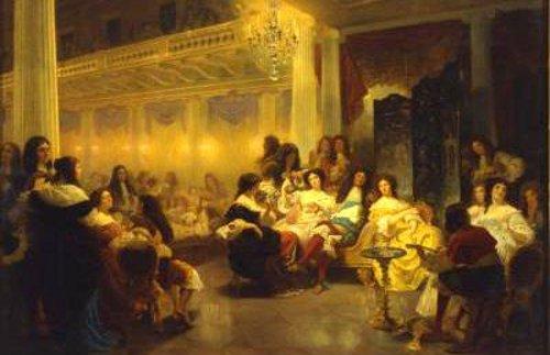 Last Soiree Of Charles II At Whitehall