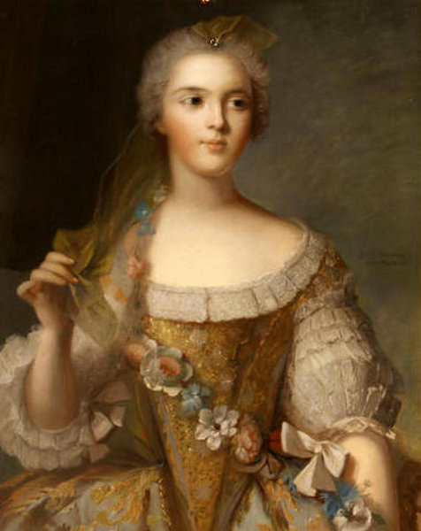 Madame Sophie, Daughter Of Louis XV (after Jean-Marc Nattier)
