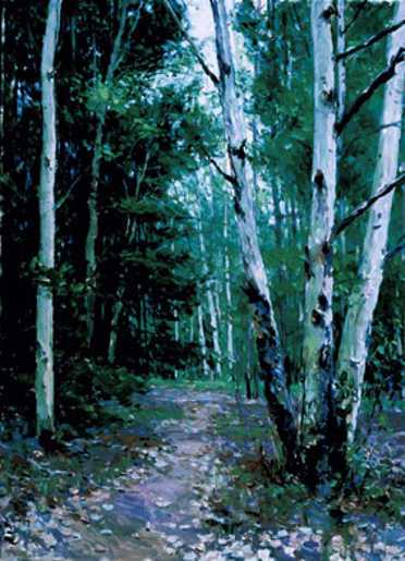 Path In The Spring Forest