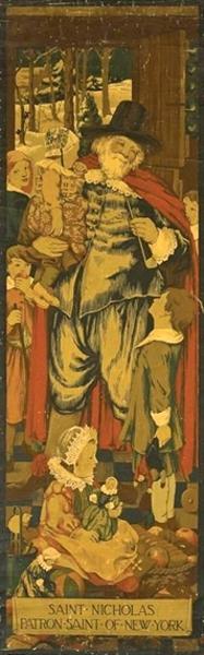 Saint Nicholas, Patron Saint Of New York