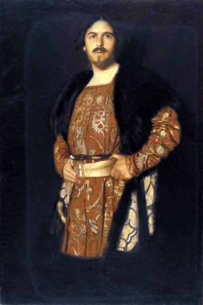 Self-Portrait In Costume Of Hamlet