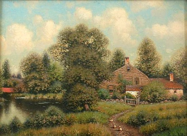 Summer Cottage With Ducks