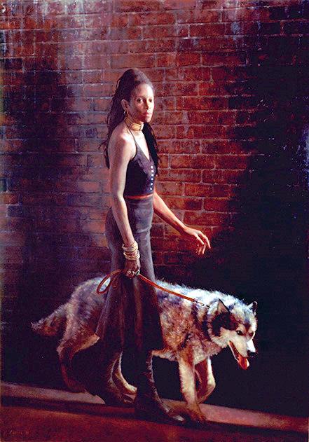 susan-with-dog