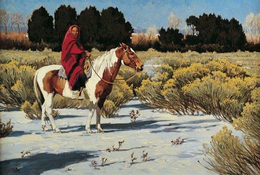 Taos Winter Morning