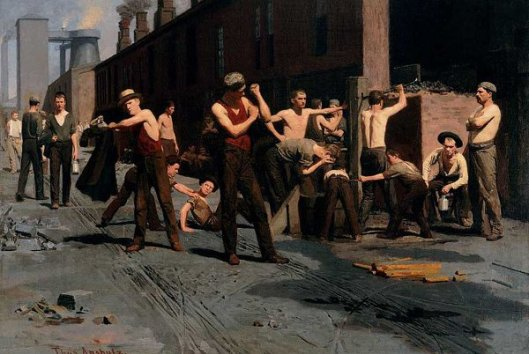 The Ironworker's Noontime