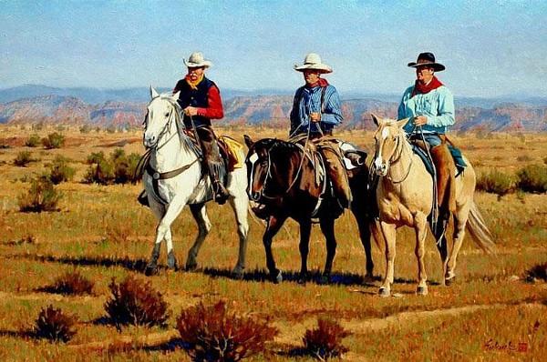 Three Came Riding