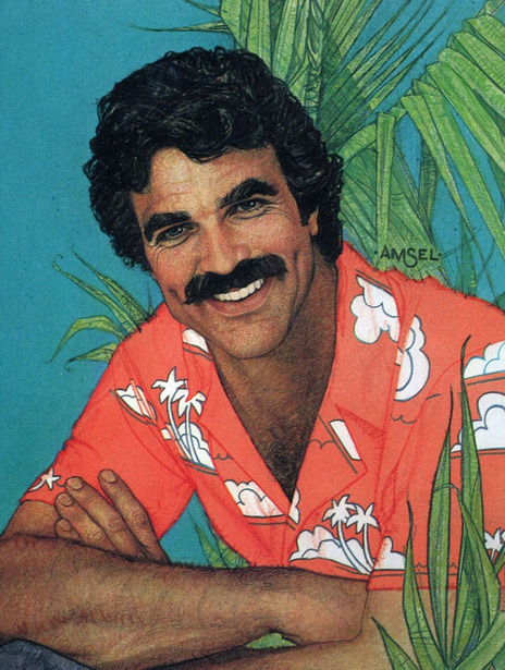Tom Selleck as Magnum P. I.
