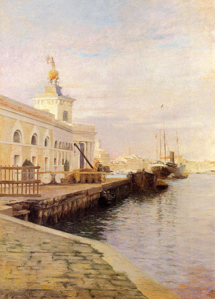 View Of Venice (The Dogana)
