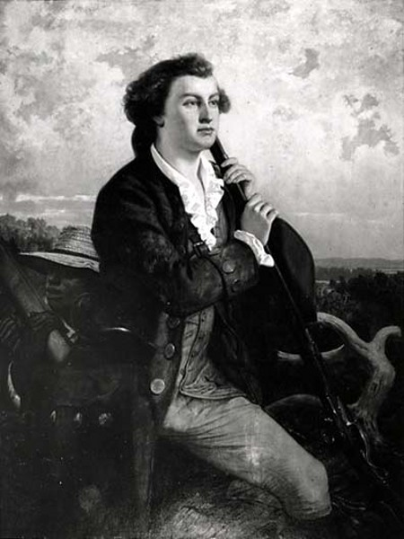 Washington As The Young Surveyor