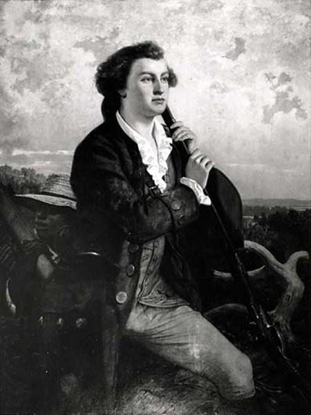 Washington As The Young Surveyor