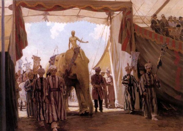 Circus Procession - The Circus Pageant