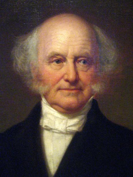 Martin Van Buren (detail)