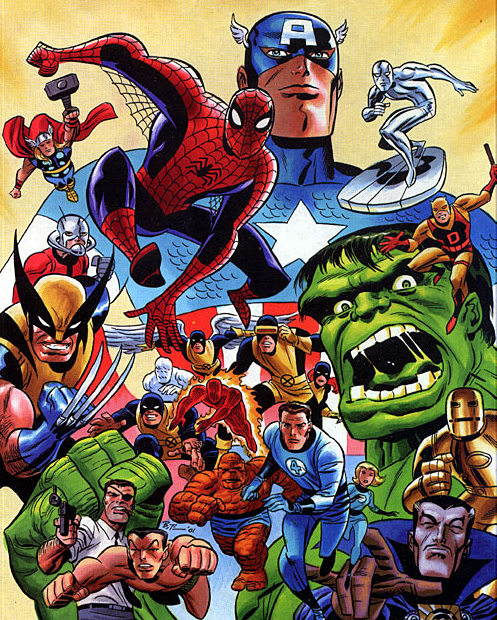 Marvel's Fantastic Firsts