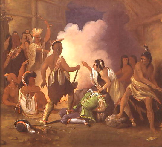 Pocahontas Saving The Life Of Captain John Smith