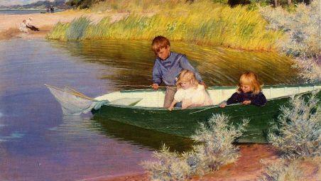 children-fishing