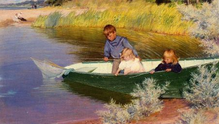 children-fishing