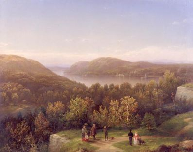 Hudson River Valley from Fort Putnam, West Point