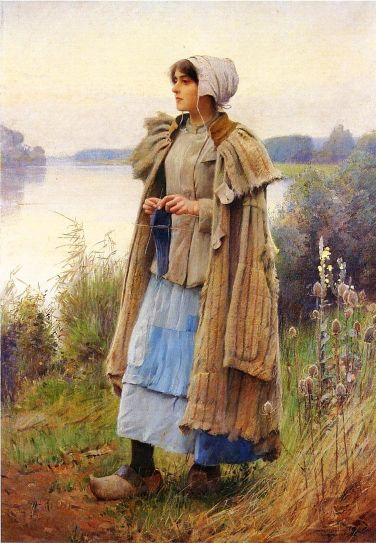 Knitting In The Fields