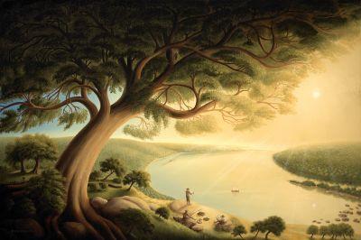 Sunrise O'r The River