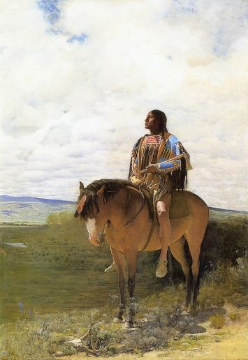 The Sioux Brave