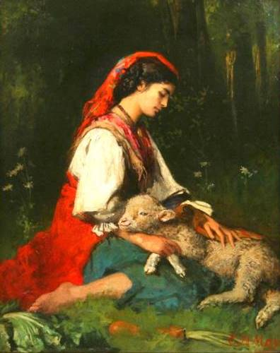 Beautiful Shepherdess